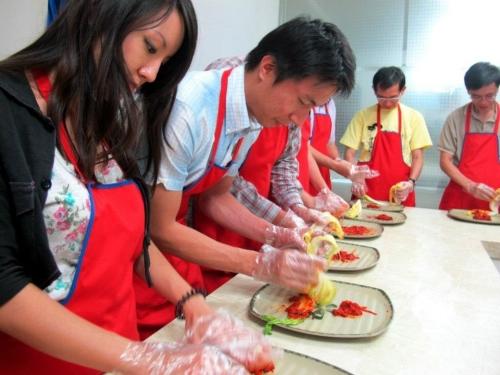 kimchi making 1