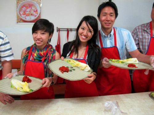 kimchi making 2