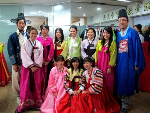 korean trad outfit