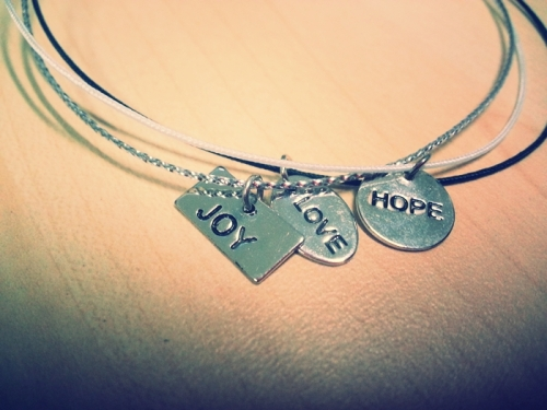 joy love hope