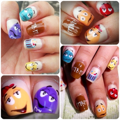 M&M'S nails