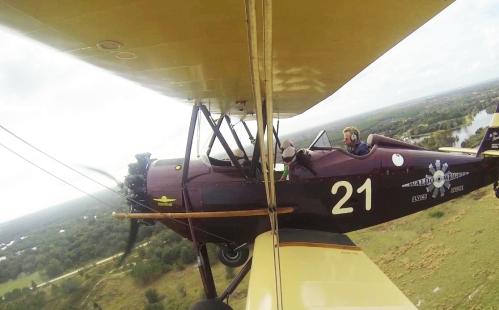 vintage biplane 1