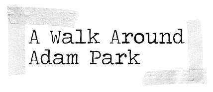 A walk around adam park