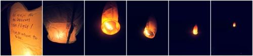 taiwan sky lanterns