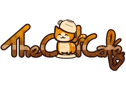 the cat cafe logo
