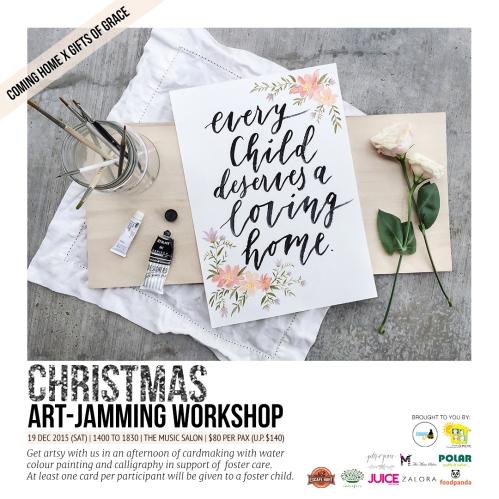 Coming Home Christmas Art-Jamming Workshop (FINAL)